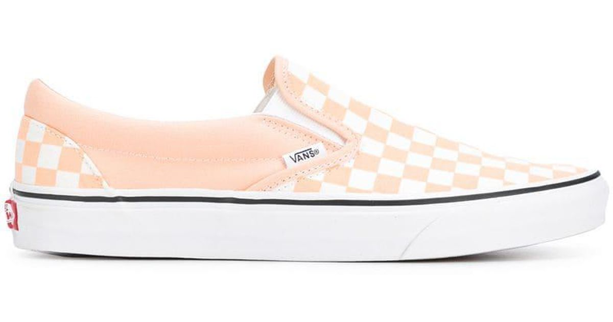 04e57e0554a727 Lyst - Vans Color Theory Checkerboard Sneakers in Pink for Men