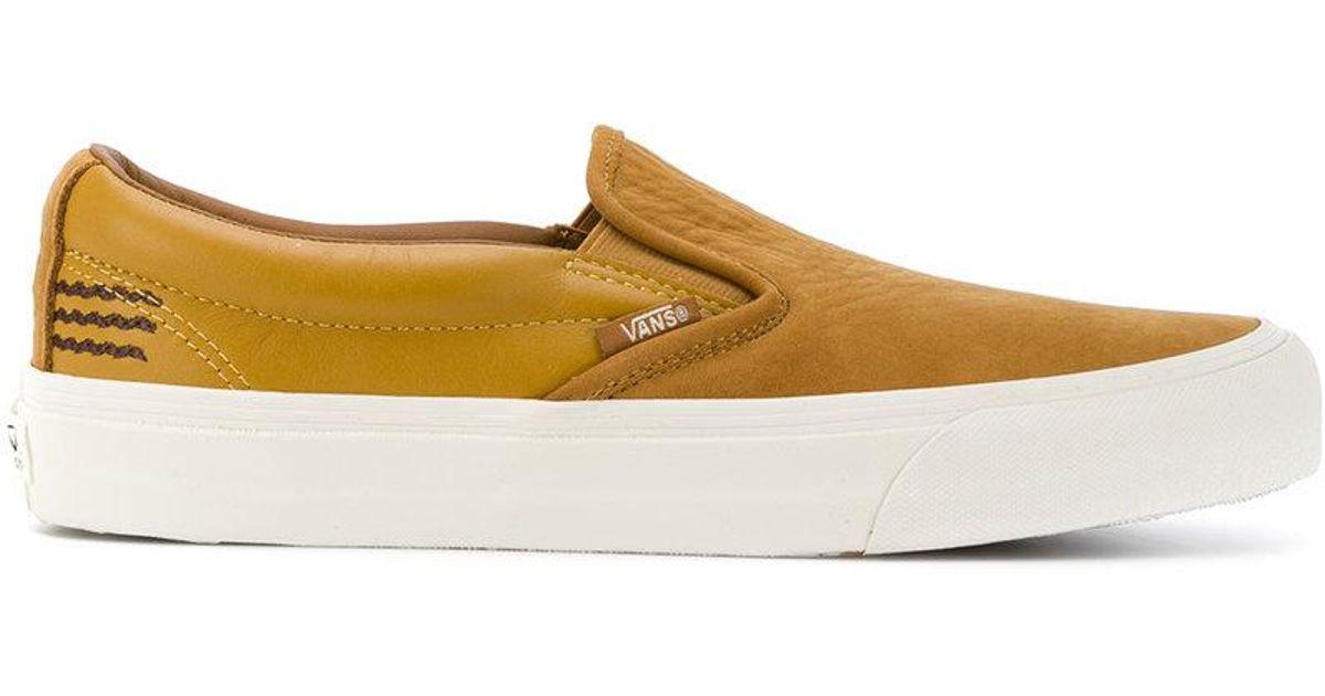 Vans Brown Taka Hayashi Edition Slip-On 66 LX Sneakers NZpUseDhG