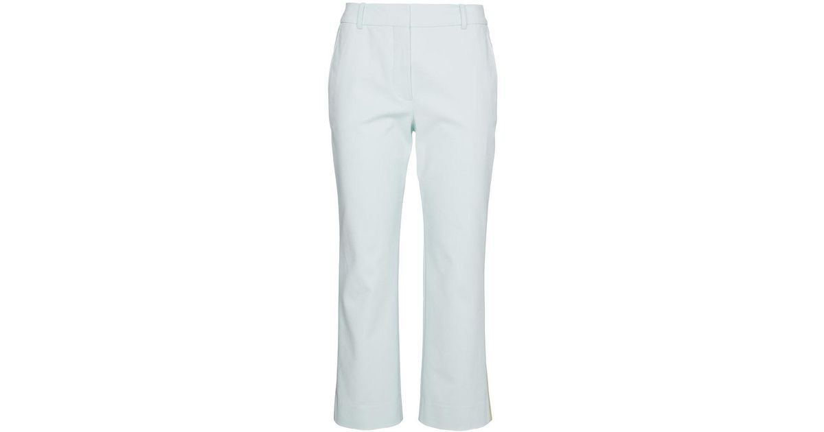 Cropped trousers with contrasting stripe Sies Marjan IfnE6J