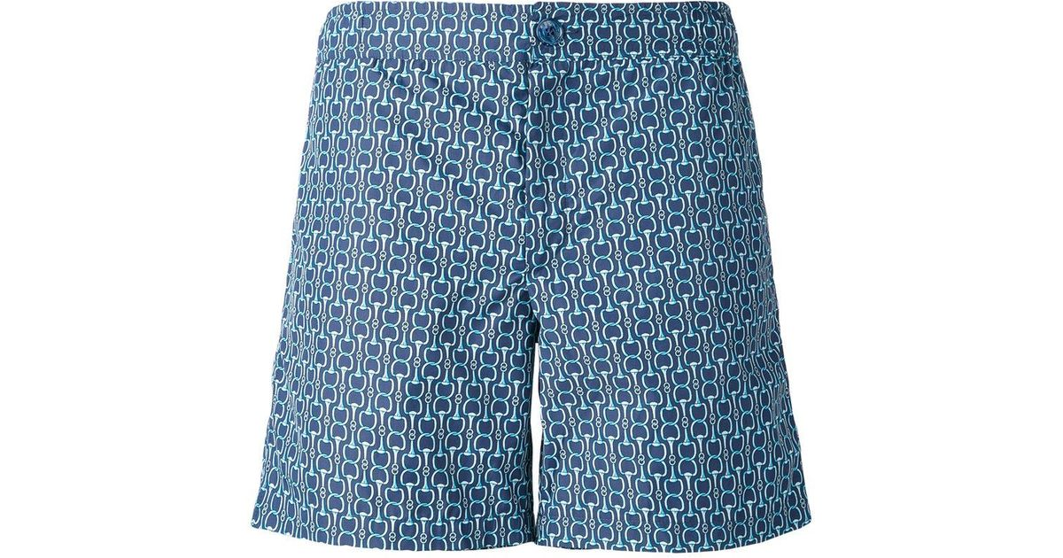 Sale Marketable Buy Cheap In China chain print swim shorts - Blue Fashion Clinic Timeless Release Dates Sale Online 308W8
