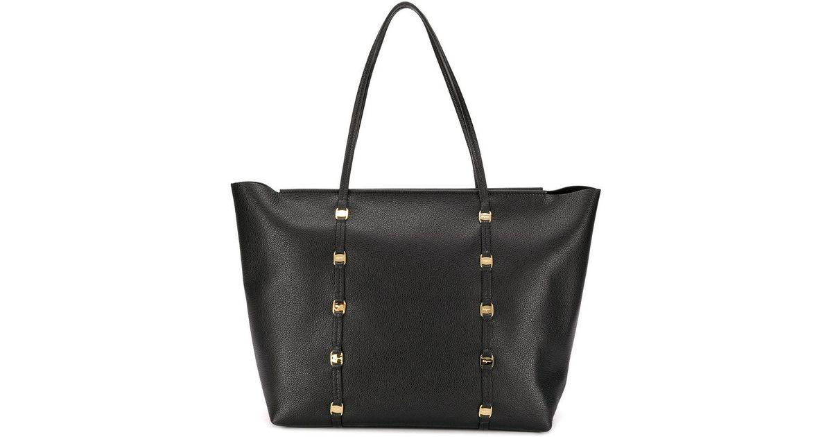 Lyst - Ferragamo Emotion Tote Bag in Black 319ace7cd32aa