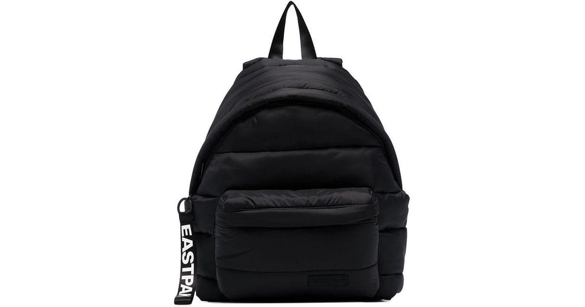 6d69657613 Eastpak Padded Pak'r Puffer Backpack in Black - Save 56% - Lyst