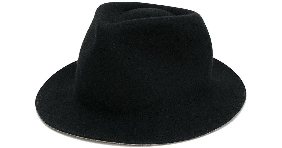 4a841913 Lyst - Paul Smith Fedora Hat in Black for Men