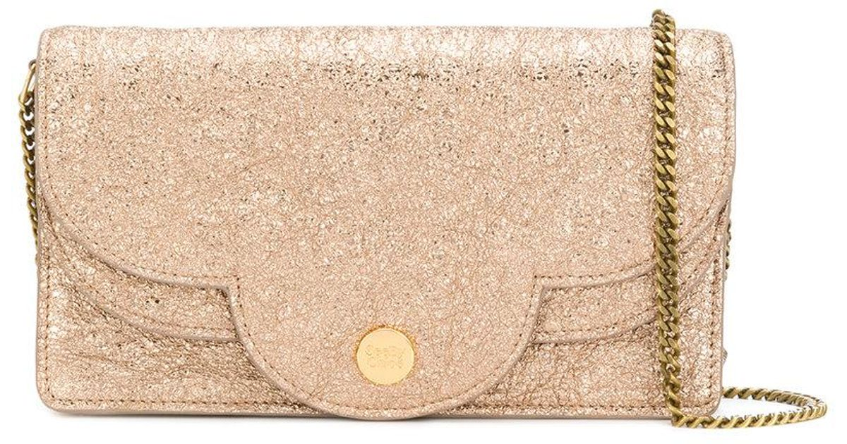 46afedf8a1 See By Chloé Polina Mini Bag in Brown - Lyst