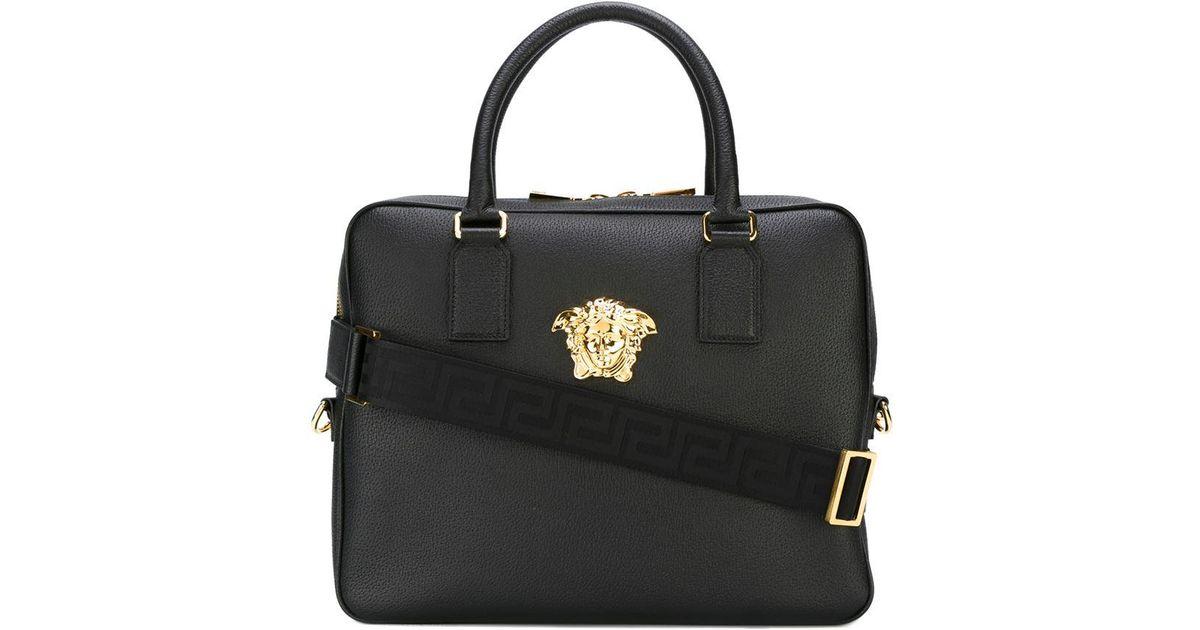 3fb1716da534 Lyst - Versace Medusa Laptop Bag in Black for Men wholesale dealer 6c4cd  8ff15 ...