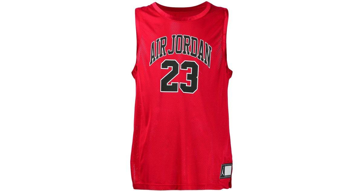c0f40232198c Lyst - Nike Jordan Dna Distorted Jersey in Red for Men