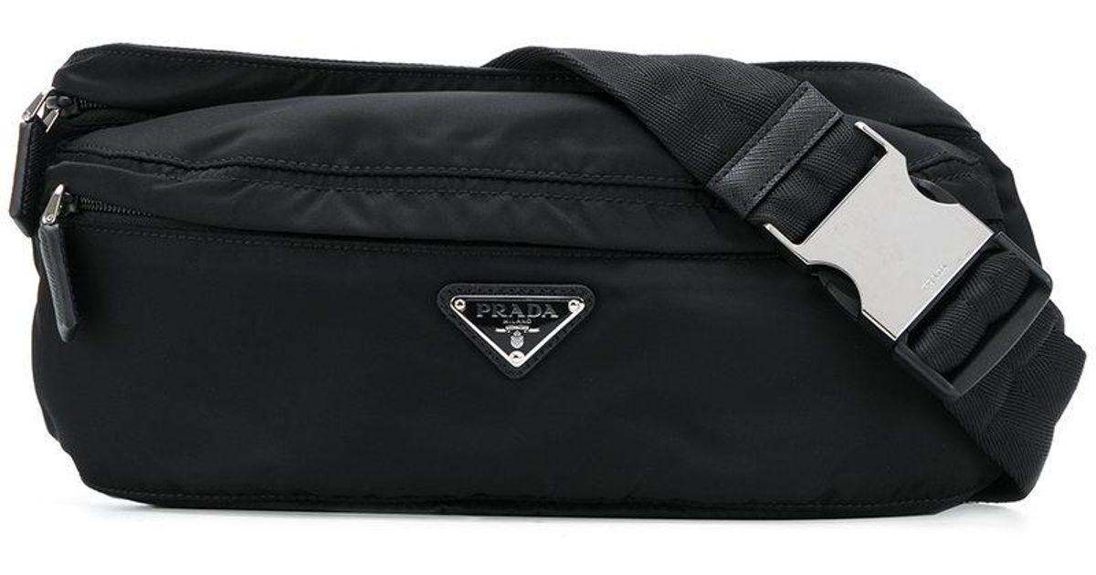 ... authentic lyst prada fanny pack style bag in black for men 2cd0b 96bea 9ce8c70002c3c