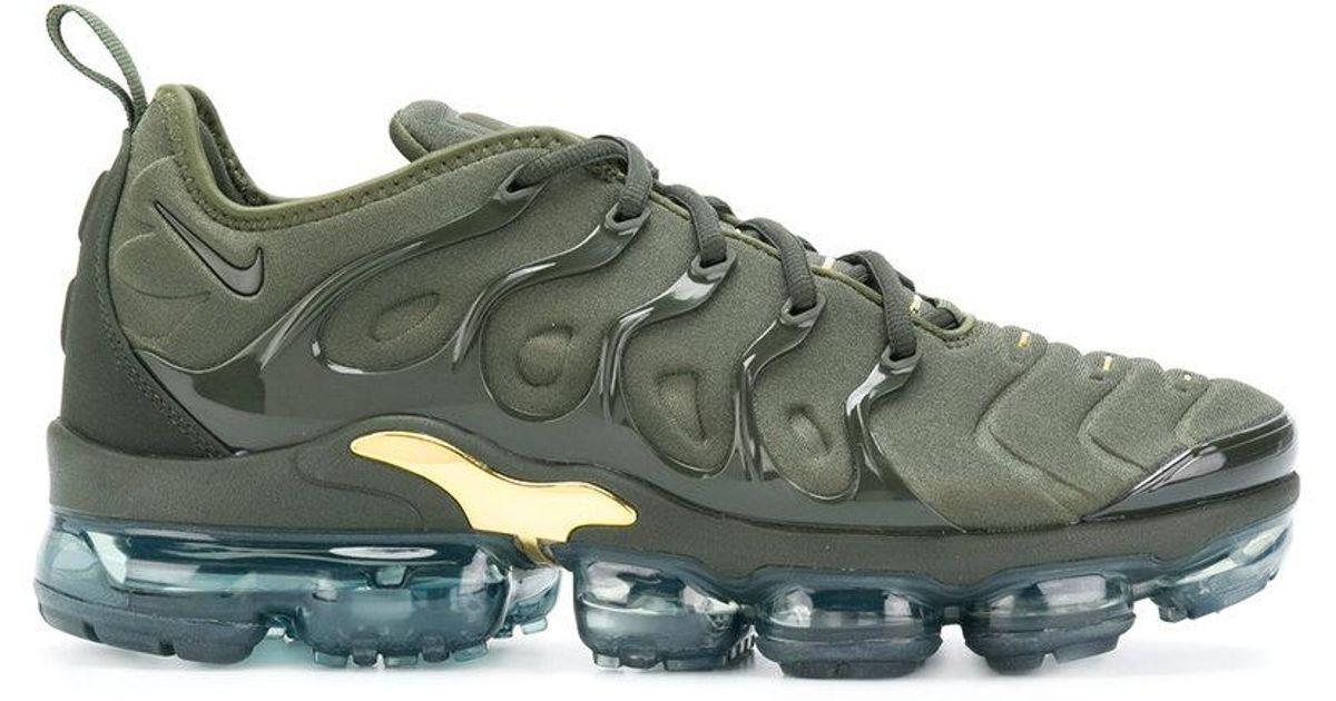 Lyst - Nike Air Vapormax Plus Tn Sneakers in Green for Men 21b7f09f82da