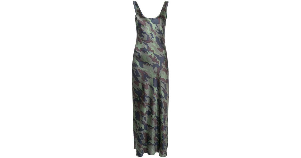 Leopard-print Silk-satin Maxi Dress - Leopard print Nili Lotan zMHOb