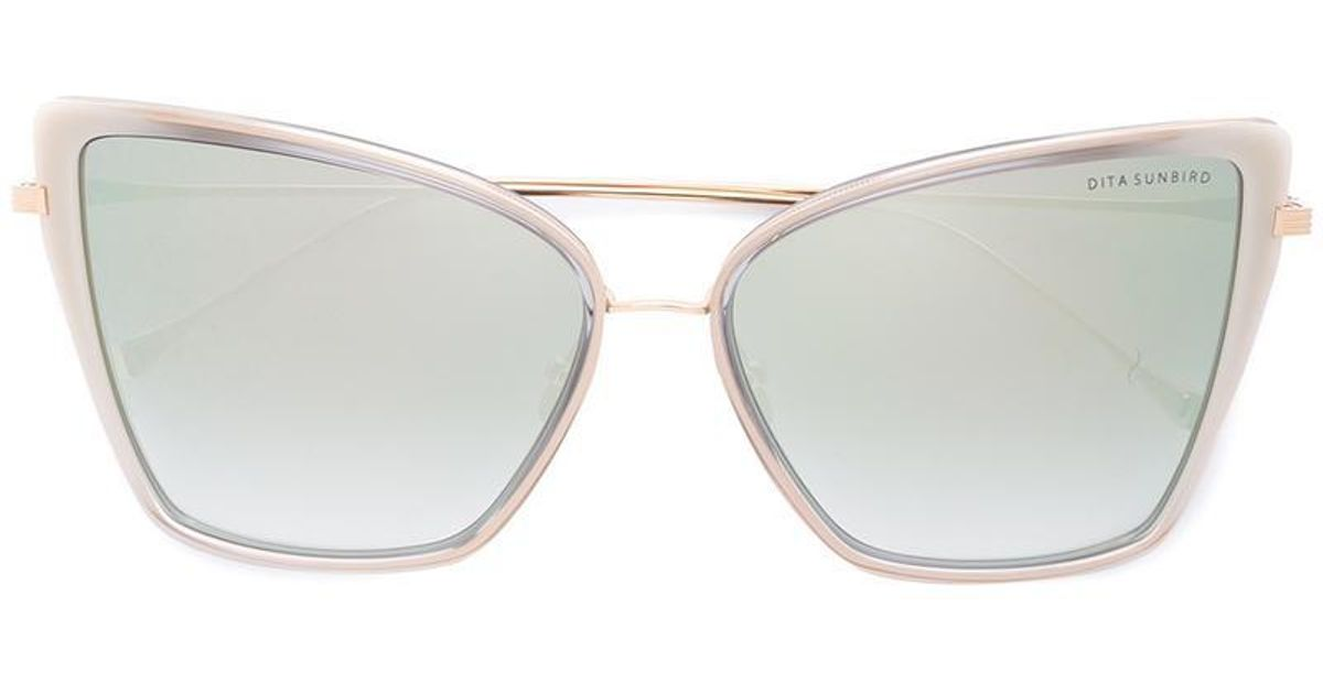 1713a3697d Lyst - Dita Eyewear  sunbird  Sunglasses in Metallic