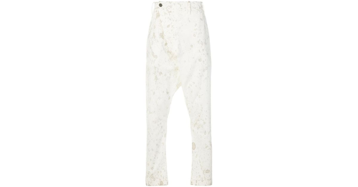 splatter pattern trousers - White Lost And Found Rooms Pictures Cheap Online Clearance Recommend Online Cheap Quality Classic Exclusive 4hQOalqDc