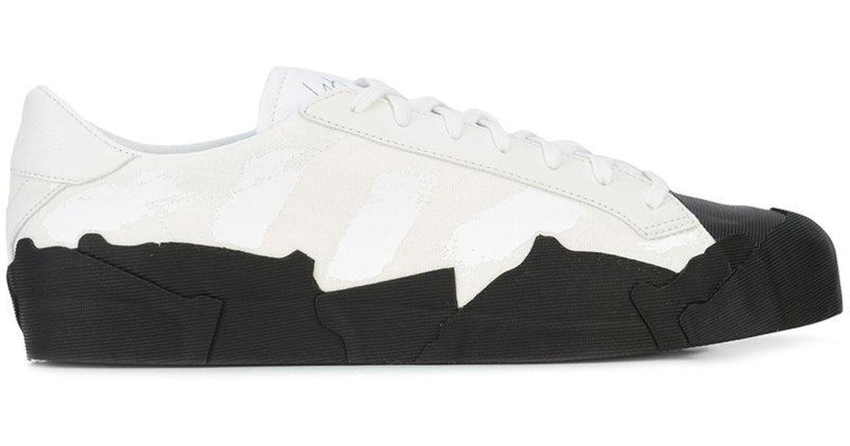 4fa4f5b683e18 Lyst - Yohji Yamamoto Takusan Low-top Sneakers in White for Men