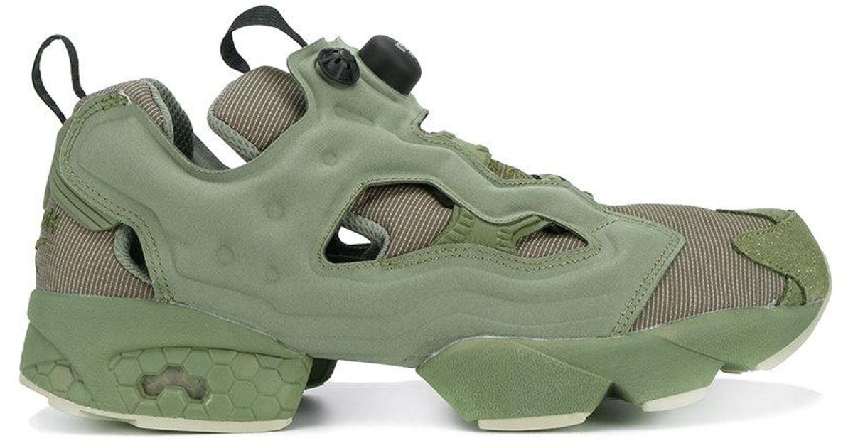 Lyst - Reebok Instapump Fury Mtp Sneakers With Cut-out Sides in Green for  Men 64f7f35a2617