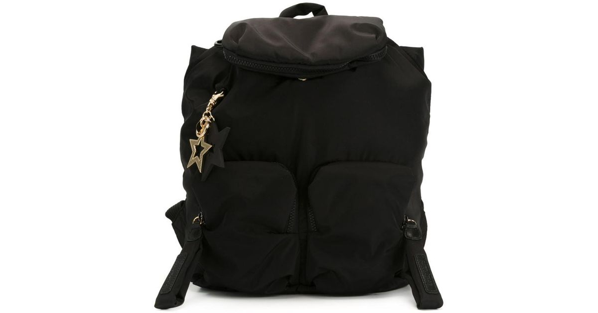Lyst - See By Chloé  joyrider  Backpack in Black 2291a2fc3cc6a