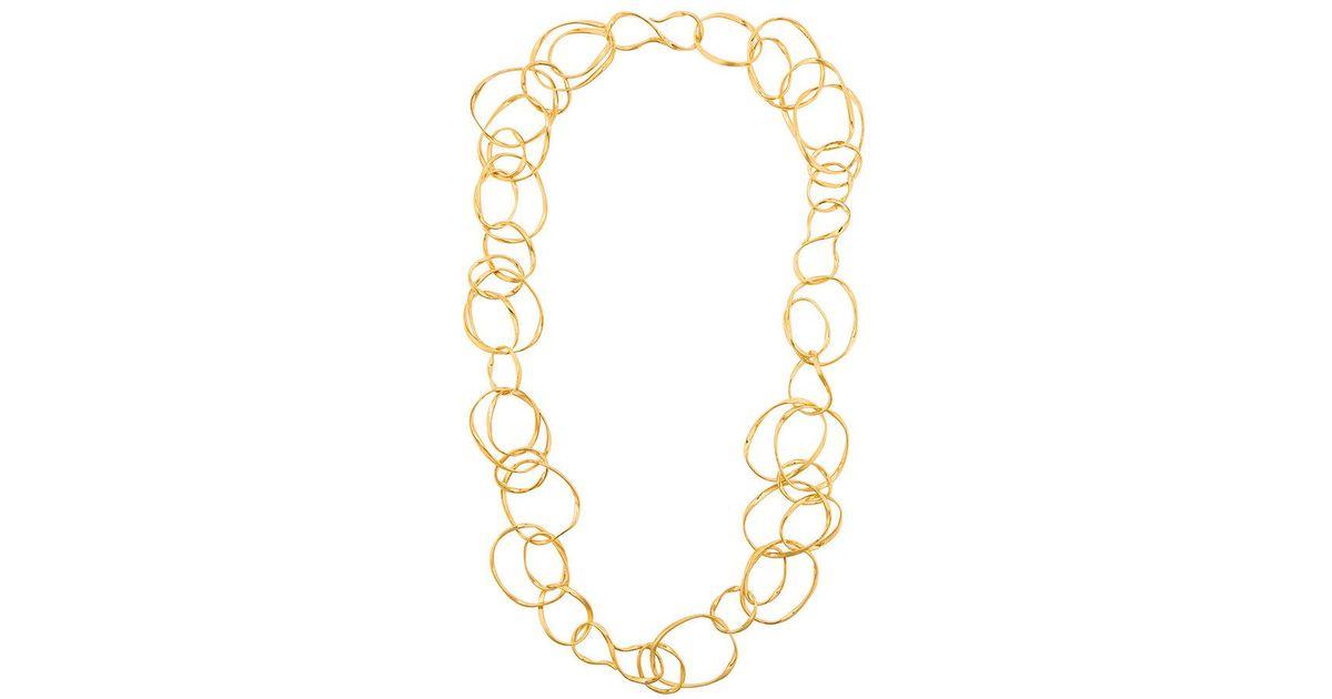 Maria necklace - Metallic Aur XO6Oo