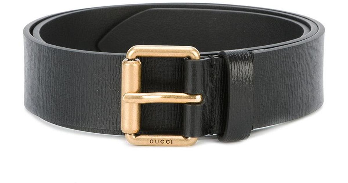 d6ce9a3f625 Gucci Kingsnake Print Belt in Black for Men - Lyst