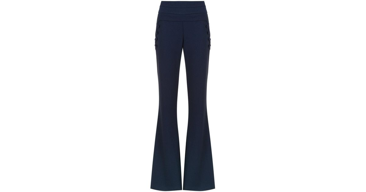 Valle Sagrado flared trousers - Blue OLYMPIAH AH4I3qevY