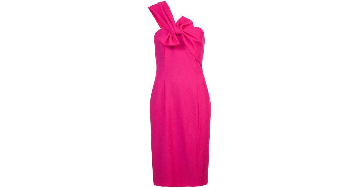 Free Shipping Fashion Style Rosalee one shoulder dress - Pink & Purple Kimora Lee Simmons Visit New Cheap Huge Surprise Finishline Online ITDWq
