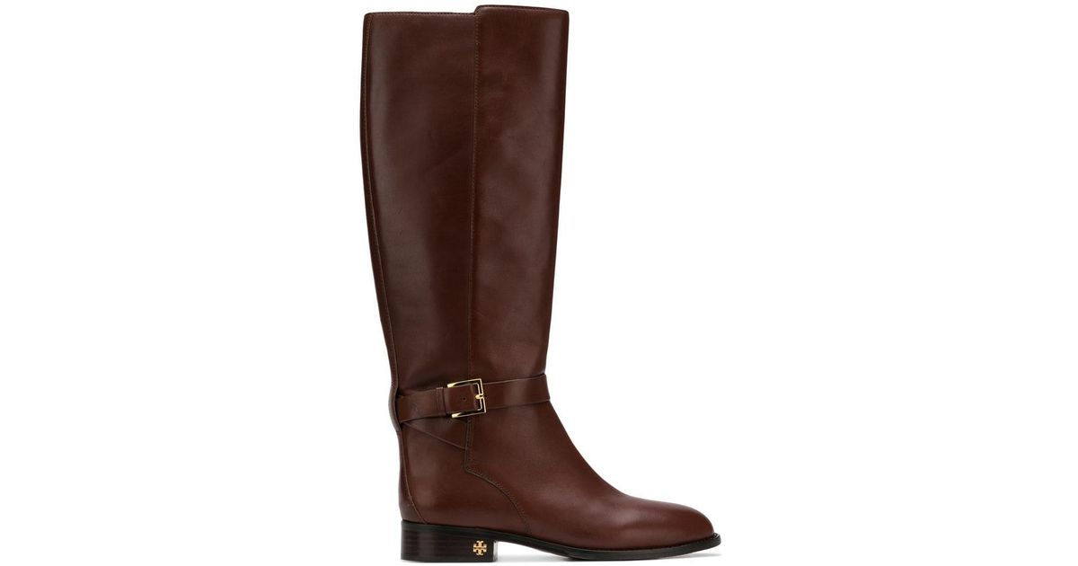 52ac97fbde6a Lyst - Tory Burch Perfect Boots in Brown