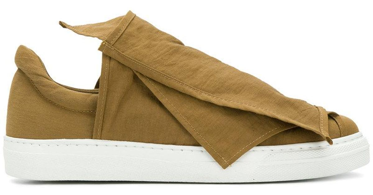 layered strap sneakers - Brown Ports 1961