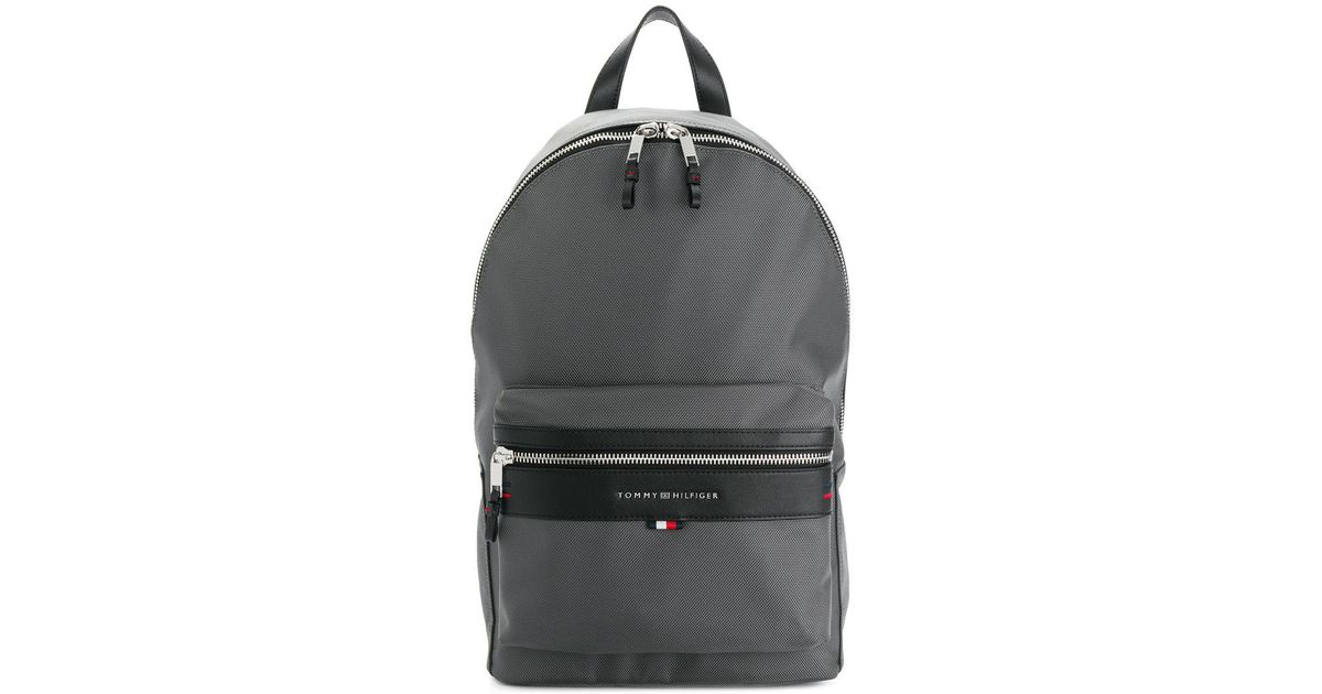 Lyst - Tommy Hilfiger Lightweight Laptop Backpack in Gray for Men b6dc15f4f