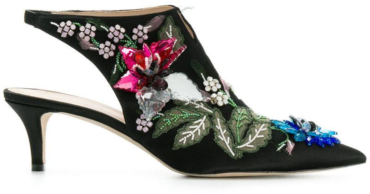 Christopher Kane Peonies boots giZvQs96