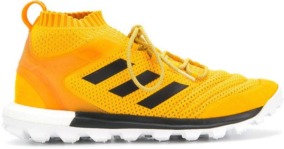Homme En Baskets Pour Coloris Rubchinskiy X Gosha Yellow Adidas 8wOm0yNvn