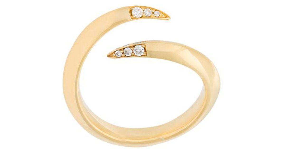 Shaun Leane Tusk ring - Metallic Yu6Uuv1l4O
