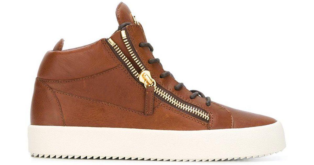 Kriss sneakers - Brown Giuseppe Zanotti c2gVvp