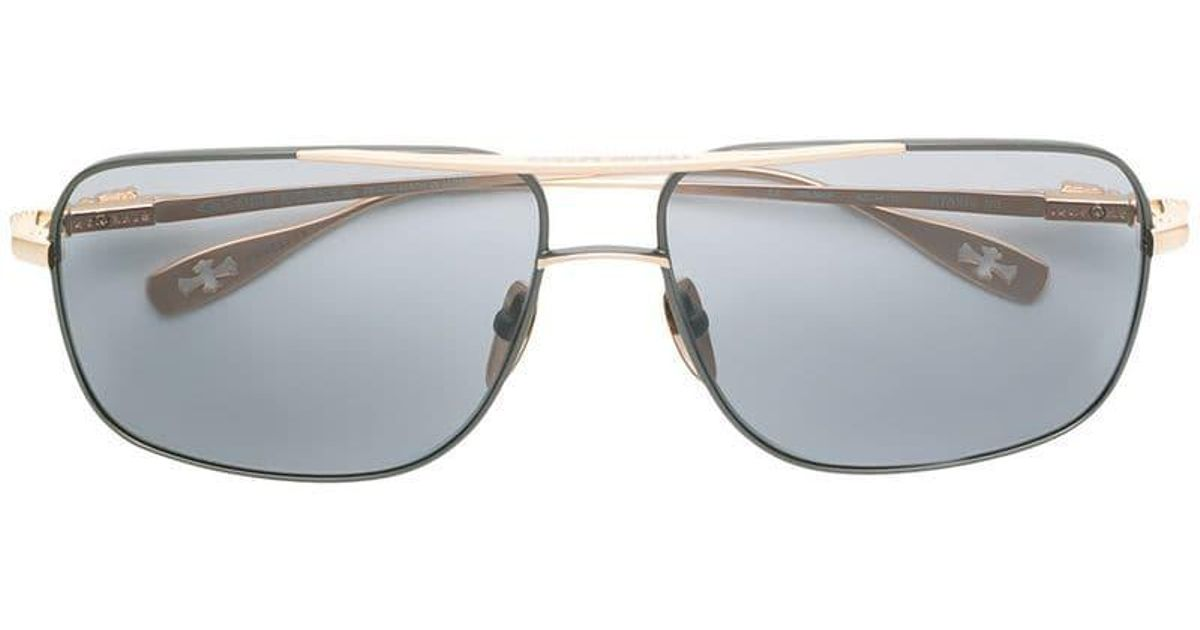 a292fc9a350 Chrome Hearts Stains Vii Sunglasses in Black - Lyst