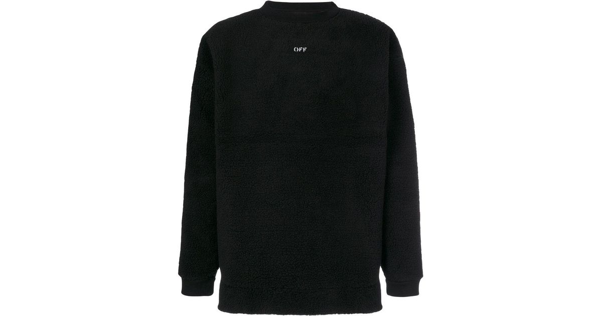 Lyst Off White Co Virgil Abloh Seeing Things Sweater In Black