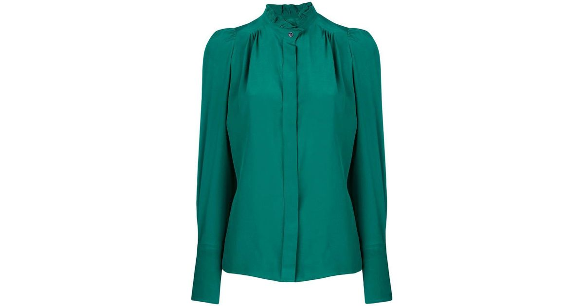 25f0f3622331fd Lyst - Étoile Isabel Marant Lamia Blouse in Green