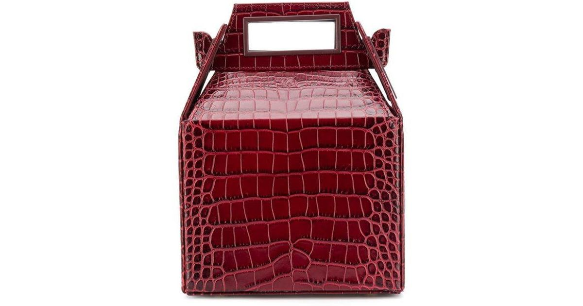 Pop Suki Sac Main À Red Mini Design Structuré And Lyst OPk0nw