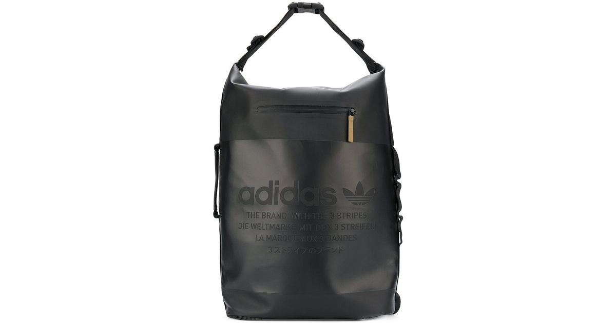 c62a593661 Lyst - adidas Originals Night Backpack in Black for Men