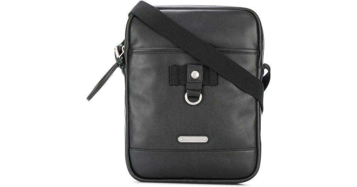 3d1e2ab577f9 Saint Laurent Rivington Pouch Cross Body Bag in Black for Men - Lyst