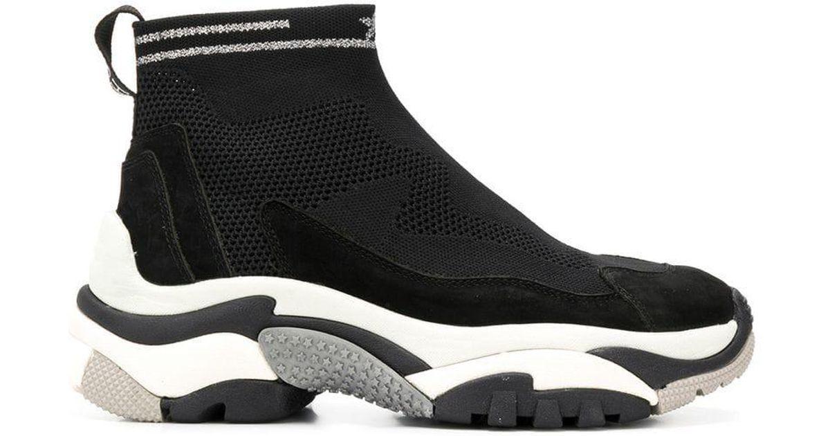 Sock Black Sneakers Ash In Addict Lyst XRqx1wEtx