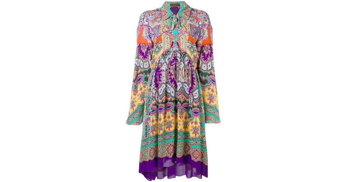 Paisley Loose Dress