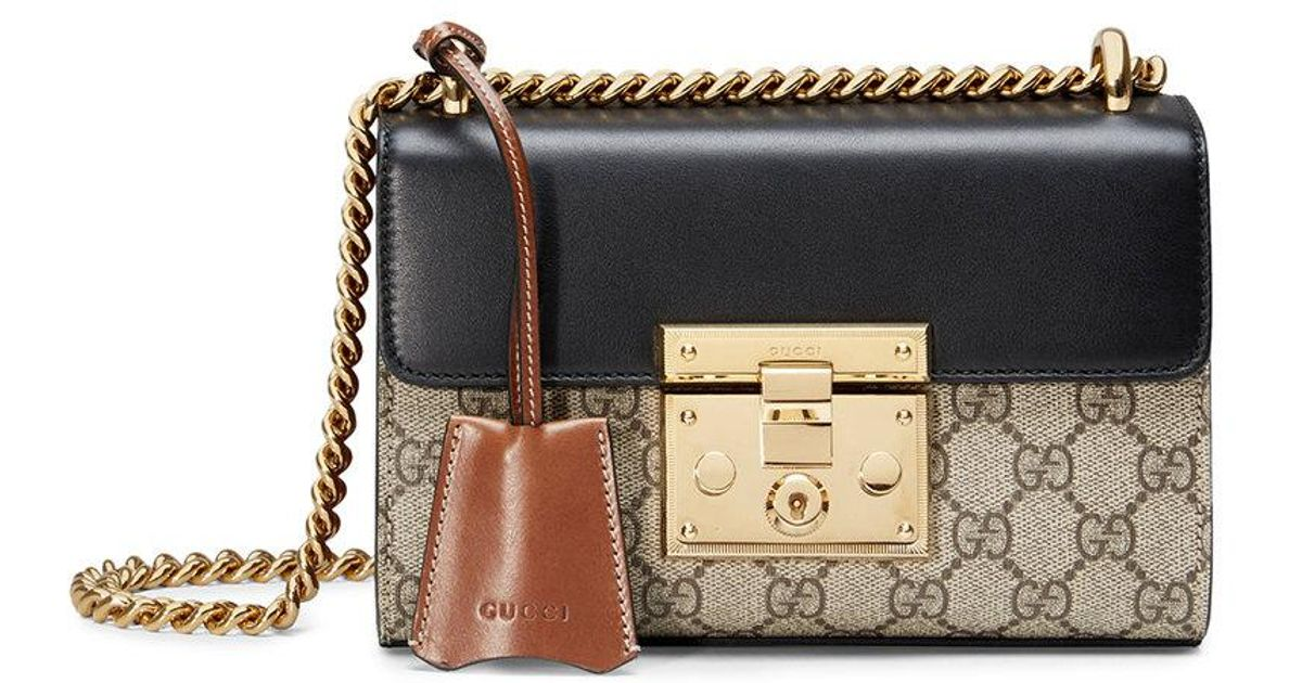 007b6f77ab7a20 Gucci Padlock Gg Small Shoulder Bag | Stanford Center for ...