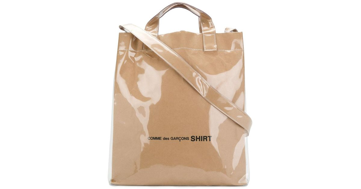 87c654bad Comme des Garçons Shopping Tote Bag in Natural for Men - Lyst
