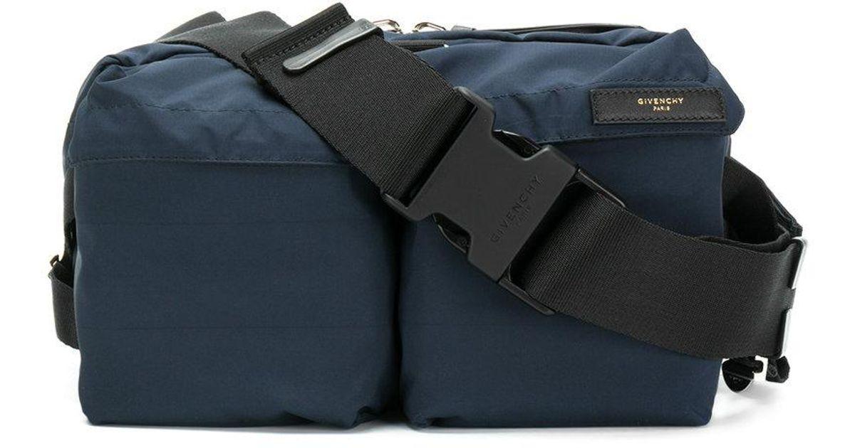 b0be07f651 Givenchy Multi-pocket Belt Bag in Blue for Men - Lyst