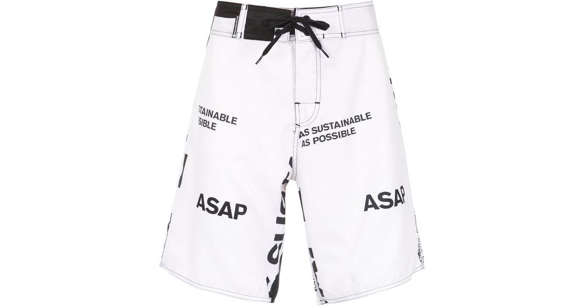Best Seller Outlet Discount Authentic Manifesto swim shorts - White Osklen Countdown Package Sale Good Selling Clearance Store Cheap Online vx4LrHt