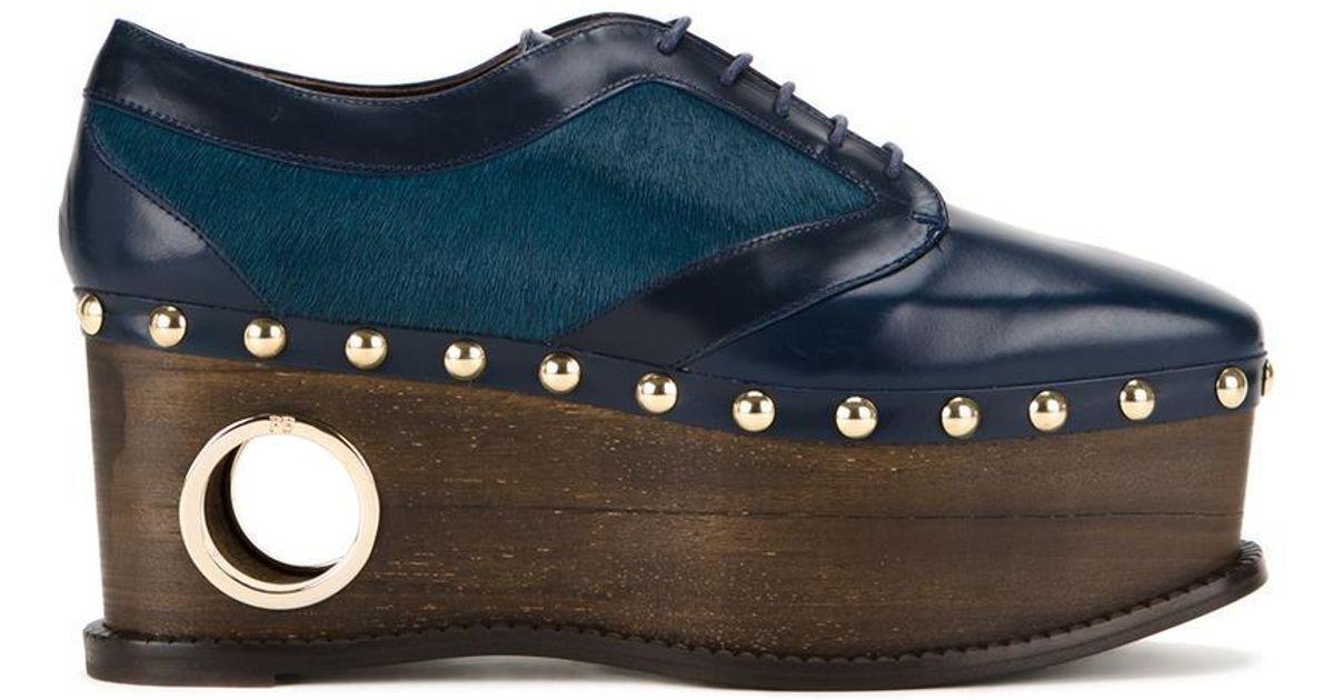 0742a5823c0e Paloma Barceló Paloma Barceló  loho  Lace-up Shoes in Blue - Lyst