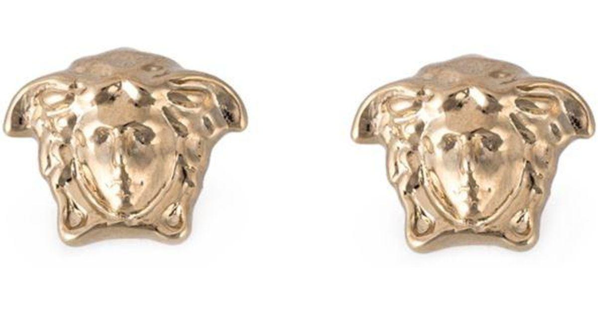 e1ac2e66b Versace Medusa Earrings in Metallic - Lyst