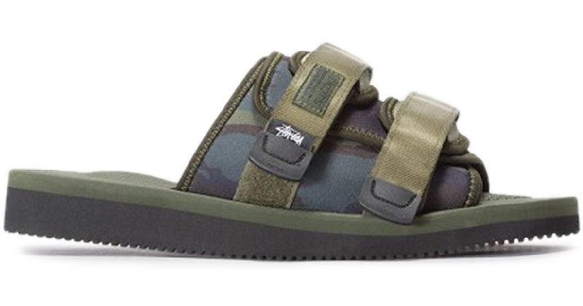 4b1a63dabd97 Lyst - Suicoke X Stussy Sandal in Green for Men