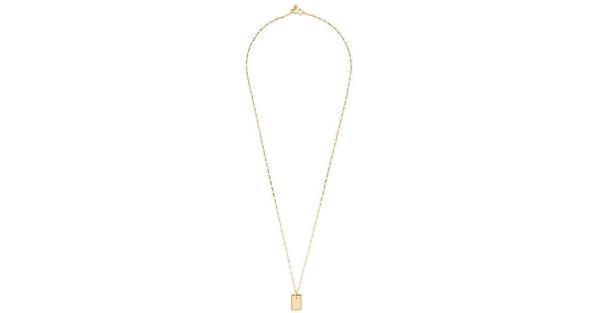 Maria Black Eliza necklace - Metallic eutQz