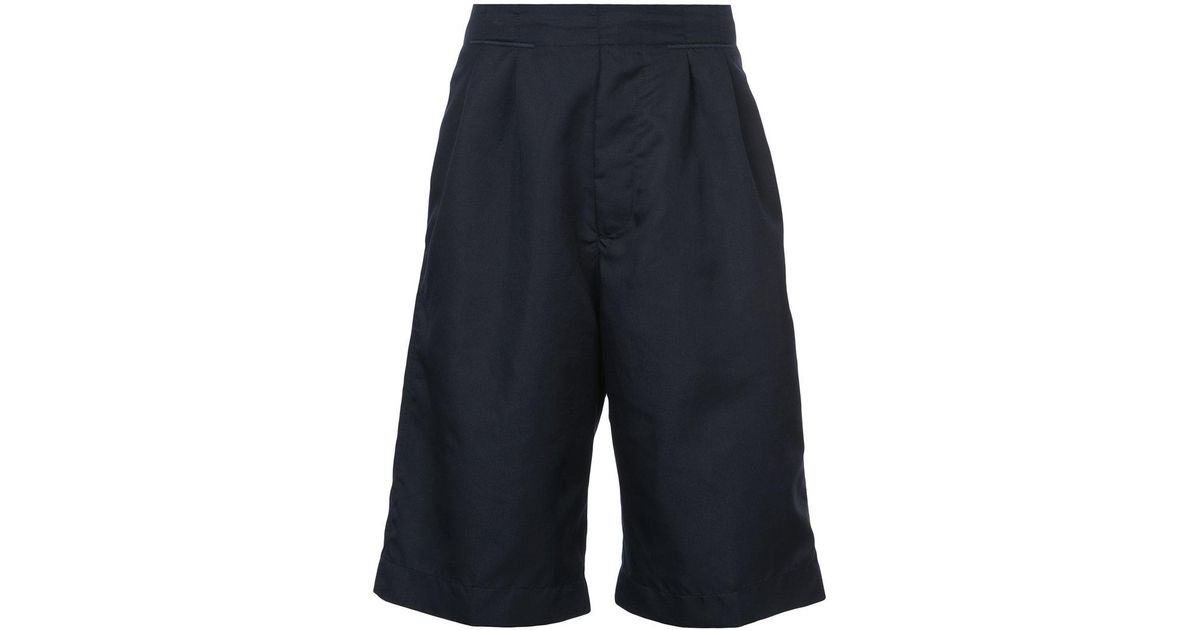 wide leg shorts - Blue OAMC pIrJSo7