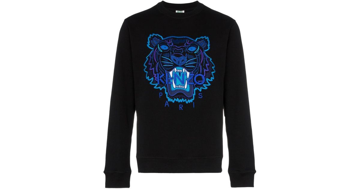 53604c5b KENZO Holiday Capsule Tiger Sweatshirt in Black for Men - Lyst
