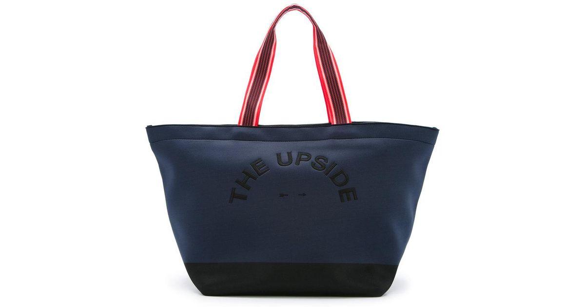 The Upside Sac à main à logo brodé igknELfX