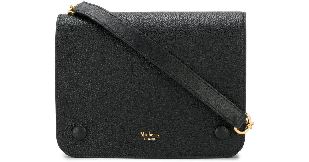f091c4da87 Lyst - Mulberry Clifton Shoulder Bag in Black