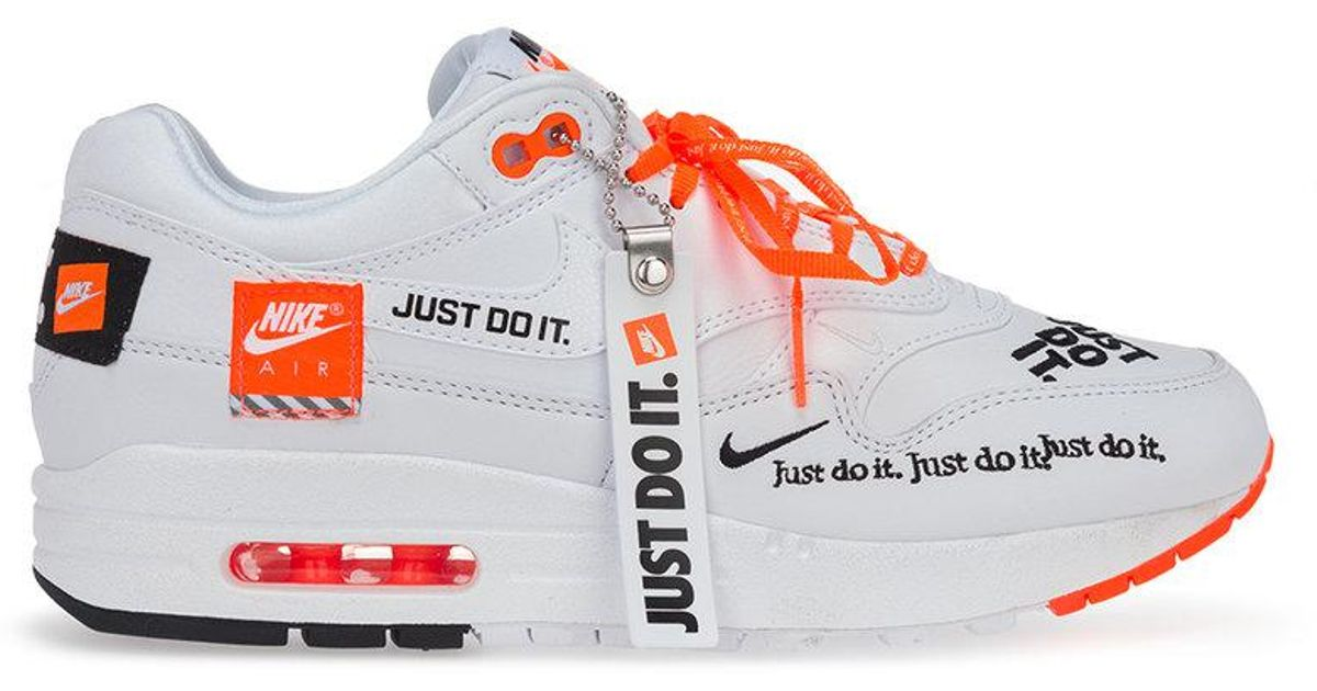 2f6921f0ba Baskets Air Max 1 Lux Just Do It Pack Nike en coloris Blanc - Lyst